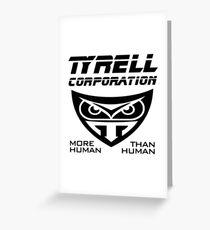 Blade Runner Tyrell Corporation Greeting Card