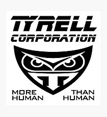 Blade Runner Tyrell Corporation Photographic Print