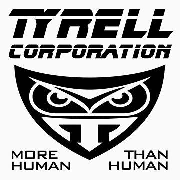 Blade Runner Tyrell Corporation by gleekgirl