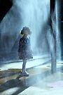 little girl in water drops von Marianna Tankelevich