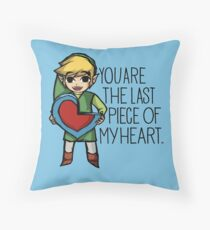 Legend Of Zelda - The Last Piece Throw Pillow