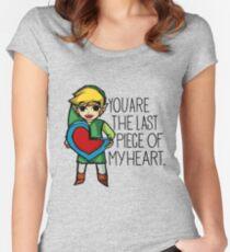 Legend Of Zelda - The Last Piece Women's Fitted Scoop T-Shirt