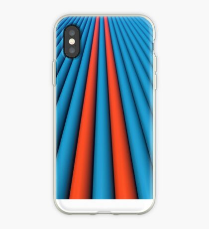 Aqua/Orange for iPhone iPhone Case