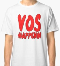 Vos Happenin One Direction Classic T-Shirt