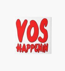 Vos Happenin One Direction Art Board