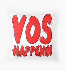 Vos Happenin One Direction Throw Pillow