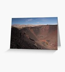 Big Craters Encore Greeting Card