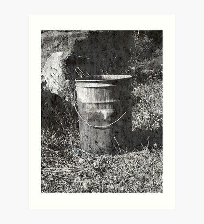 The Bucket Art Print