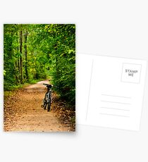 The Bike on the Towpath Postcards