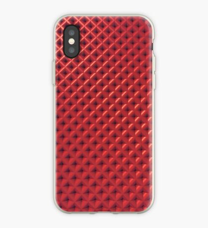 Red Crosshatch for iPhone iPhone Case