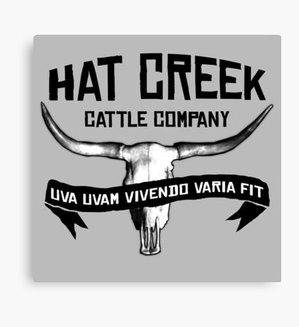 Hat Creek v2 Canvas Print