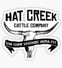 Hat Creek v2 Sticker