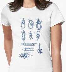 Knots Womens Fitted T-Shirt
