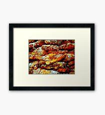 Almond Croissants Framed Print