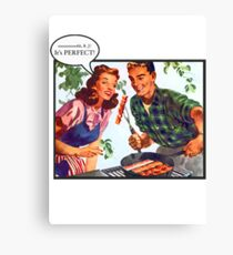 Bacon is best! Canvas Print