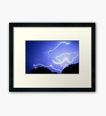 Lightning 2012 Collection 400 Framed Print