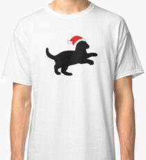 Kitten in a Santa Hat Classic T-Shirt