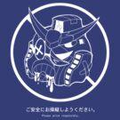 PSA (Gundam + white lines ver.) by Supatomic