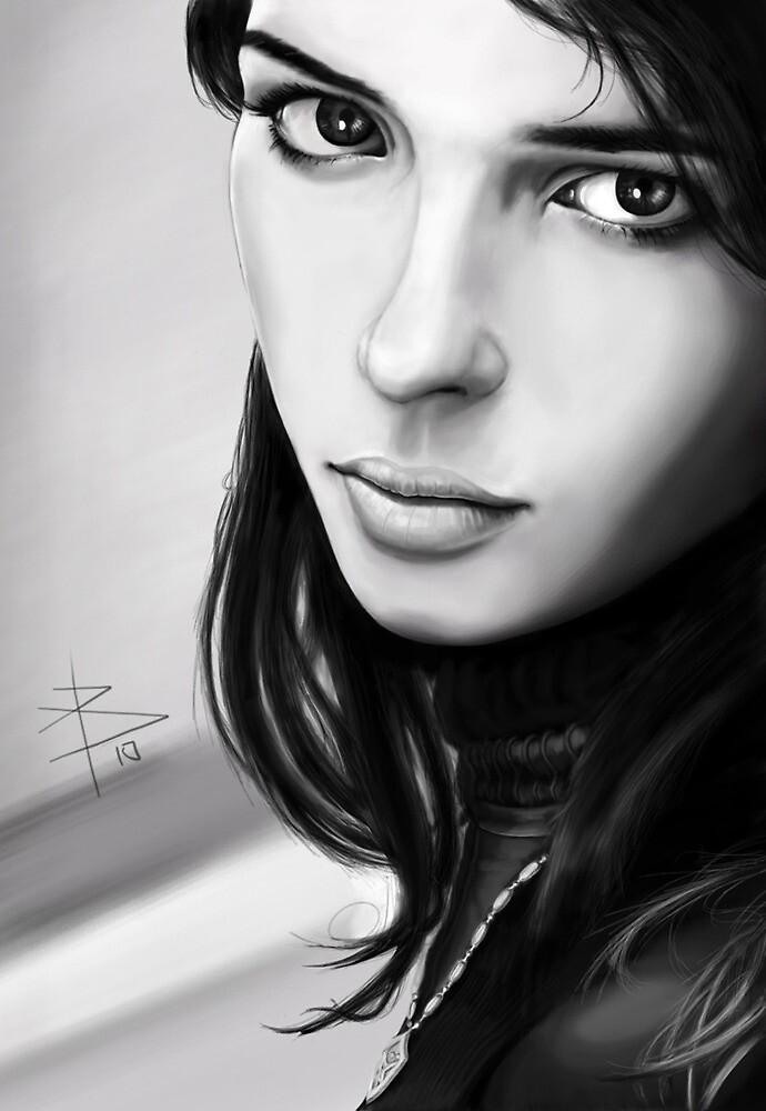 Random Portrait  by Bahgatov