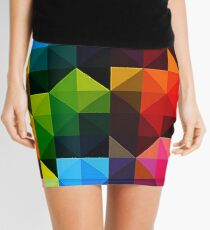 Geometrische Dreiecke - 1 Minirock