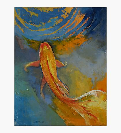 Butterfly Koi Photographic Print