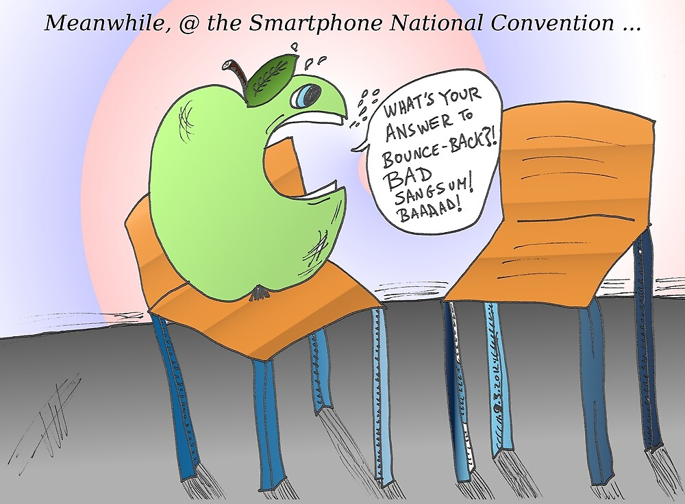 An Apple and an empty chair by Binary-Options
