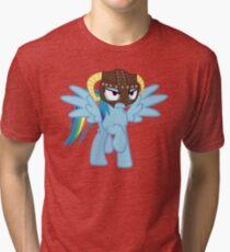 Rainbow Dash is Dragonborn Tri-blend T-Shirt