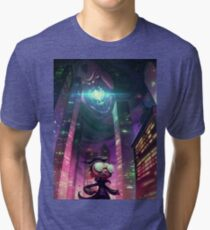 "Invader Zim Fan Art - Dib ""The Nightmare Begins"" Tri-blend T-Shirt"