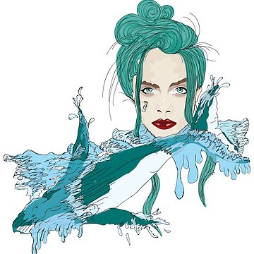 Woman of the Sea  by gr-graphic