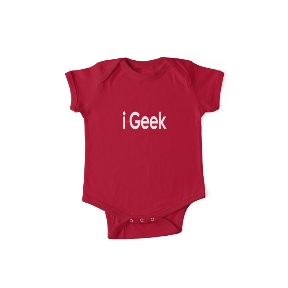 Cool iGeek T-Shirt, Fashion Top & Sticker Gift For Fun by deanworld