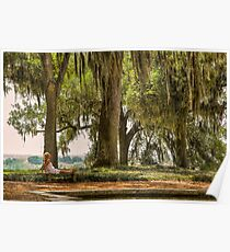 Tranquility at Bok Tower Gardens Poster