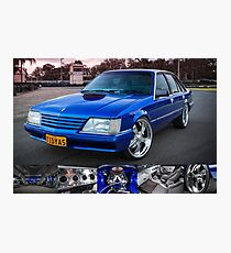 Craig Darcey's Holden VK Commodore Photographic Print