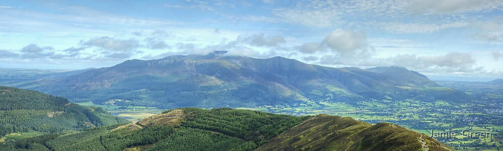 Grisedale Views by Jamie  Green