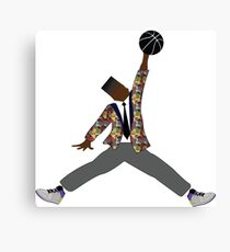 Prince Ball'n Canvas Print