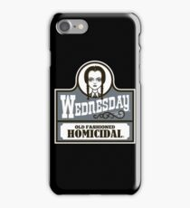 Old Fashioned Homicidal iPhone Case/Skin