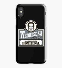 Old Fashioned Homicidal iPhone Case