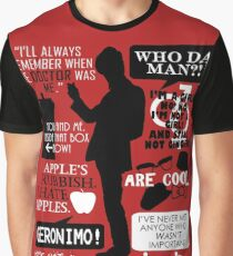 Doctor Who - 11th Doctor Quotes Graphic T-Shirt
