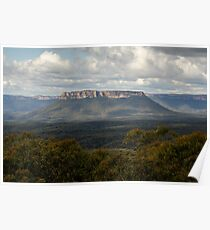 Pantoneys Crown - Gardens of Stone National Park Poster