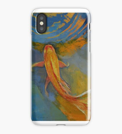 Butterfly Koi iPhone Case