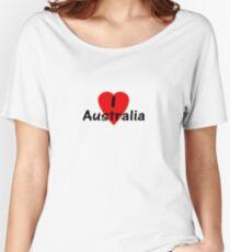 I Love Australia - T-Shirt & Sticker Women's Relaxed Fit T-Shirt