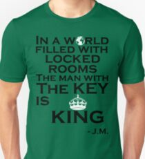 In A World Filled With Locked Rooms T-Shirt