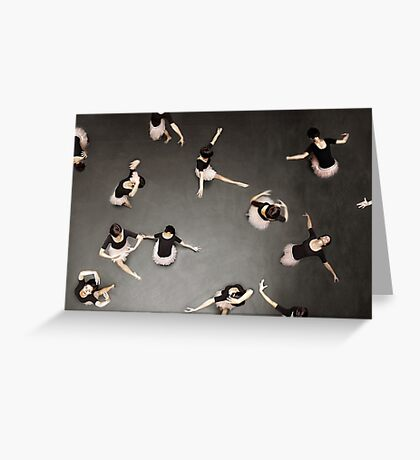ballet from above Greeting Card