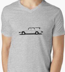 Volvo 200 Series Wagon Men's V-Neck T-Shirt