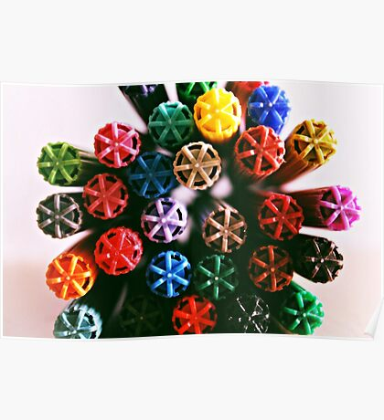 Colour me a Rainbow  Poster