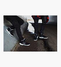 Air Jordan Oreo 5 Photographic Print