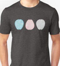 Brainy Pastel Pattern (Awesome Pastel Brains) T-Shirt