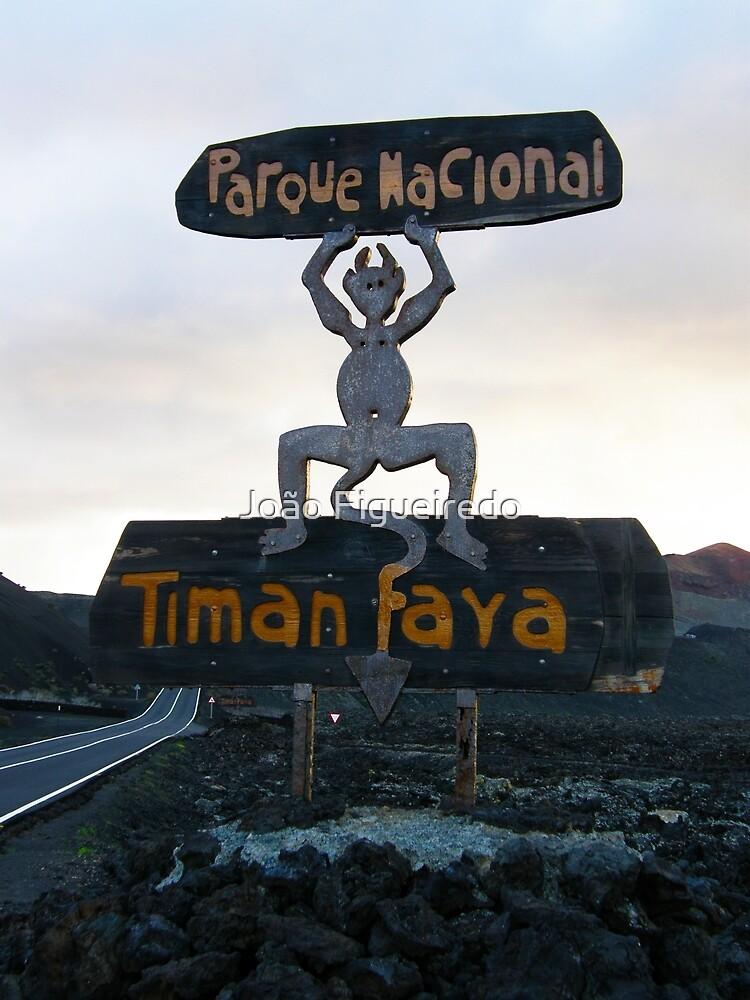 Timanfaya devil by João Figueiredo