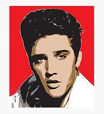 Elvis Presley - Pop Art Portrait Photographic Print