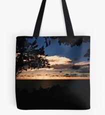 Face The Immensity Tote Bag