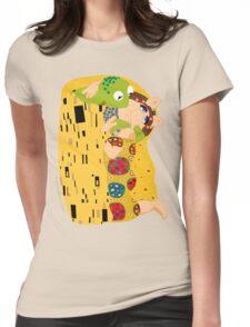 Klimt muppets Womens Fitted T-Shirt